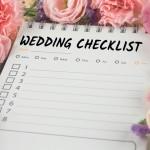 Utilisez une check-list de mariage pour rester maître de la situation