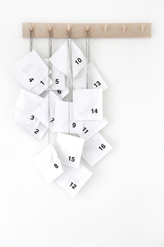 adventskalender minimalistisch