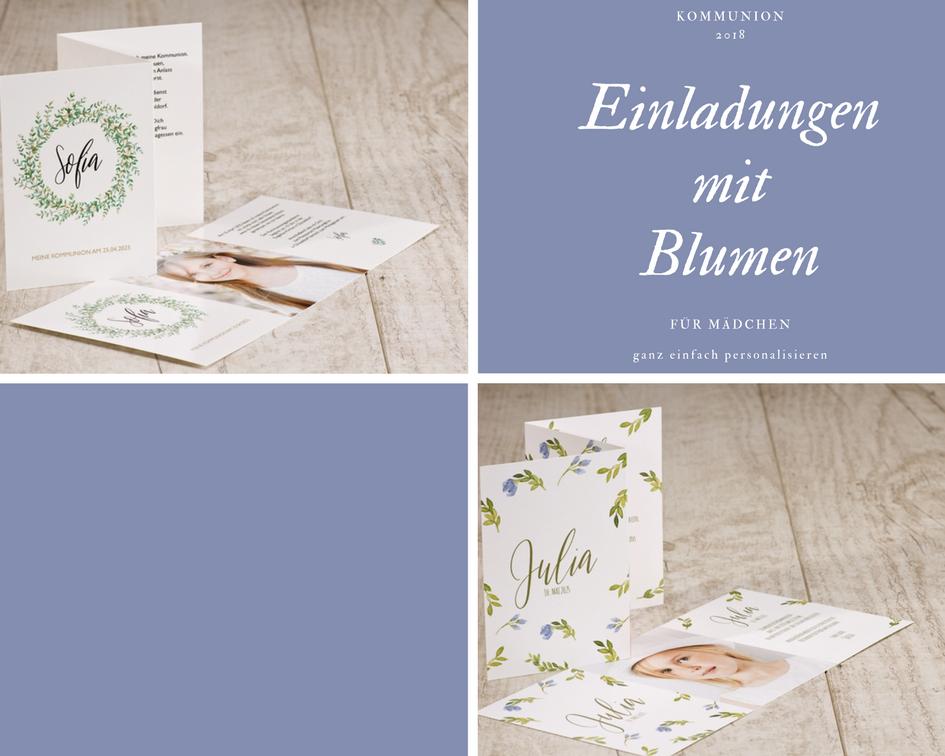 Einladungen-Kommunion-für-Mädchen-Blumen