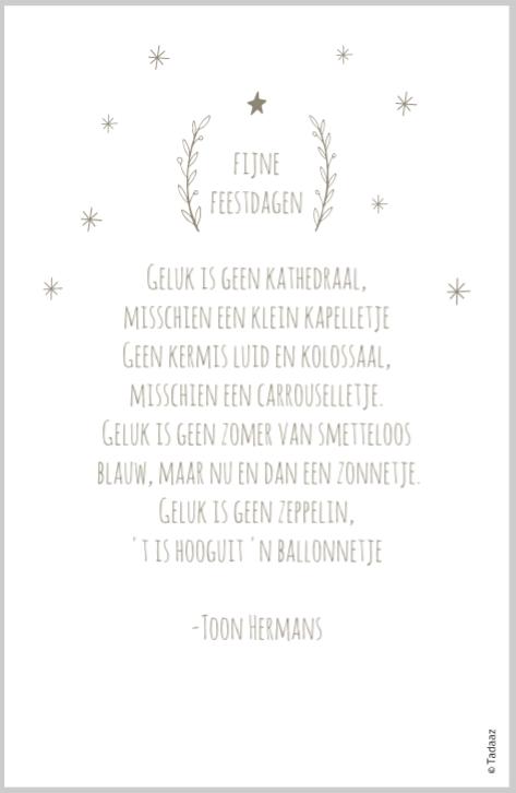 kerst en nieuwjaarswensen met een gedicht
