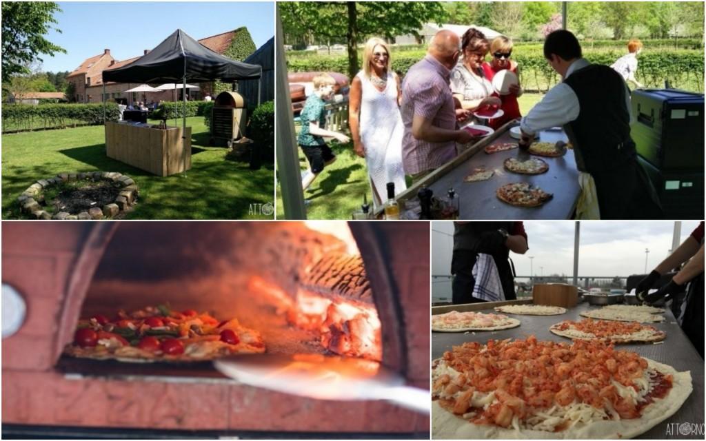 Culinaire pizza in houtovern: Attorno