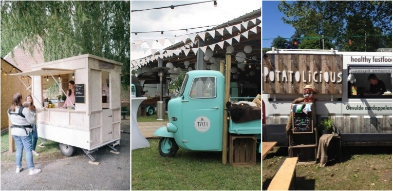 foodtrucks op je communiefeest