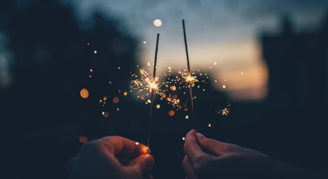 new year vuurwerk