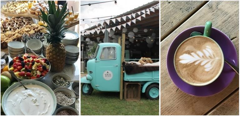 Heerlijke koffie en desserts op een originele wijze: Tati