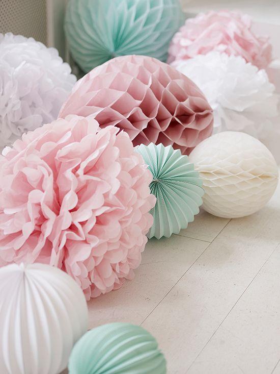 Papieren ponponnen maken