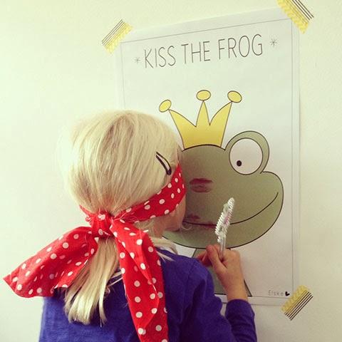 Activiteit prinsessenfeestje kus de kikker