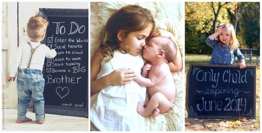 Hoe de geboorte van je tweede kindje aankondigen? tadaaz blog