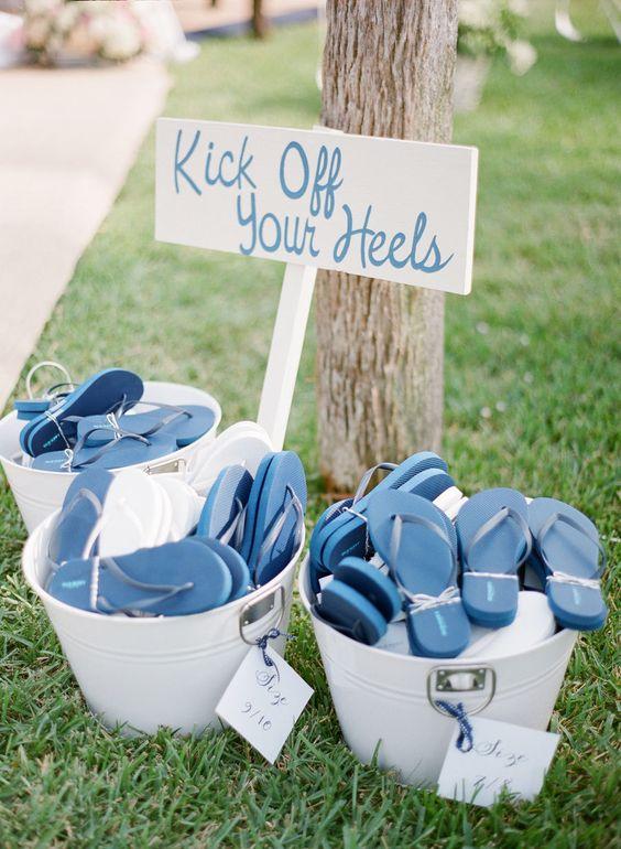 trouwfeest in de zomer schoenen