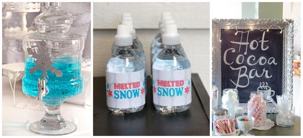 winter wonderland feestje drankjes