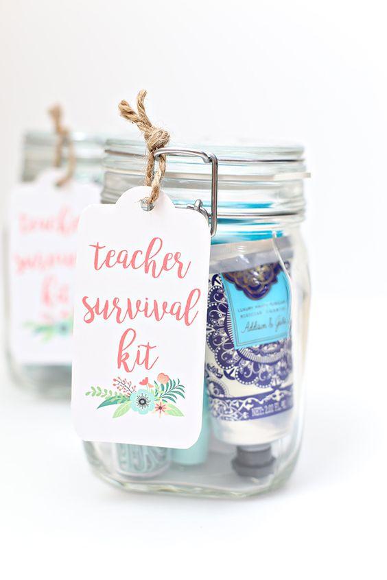 Bekend bedankje voor de juf of meester survival kit - Tadaaz Blog &GZ22