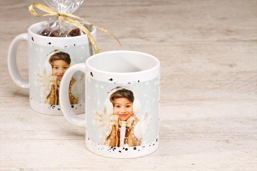 Een prachtige foto op een koffiemok is het perfecte cadeau onder de kerstboom