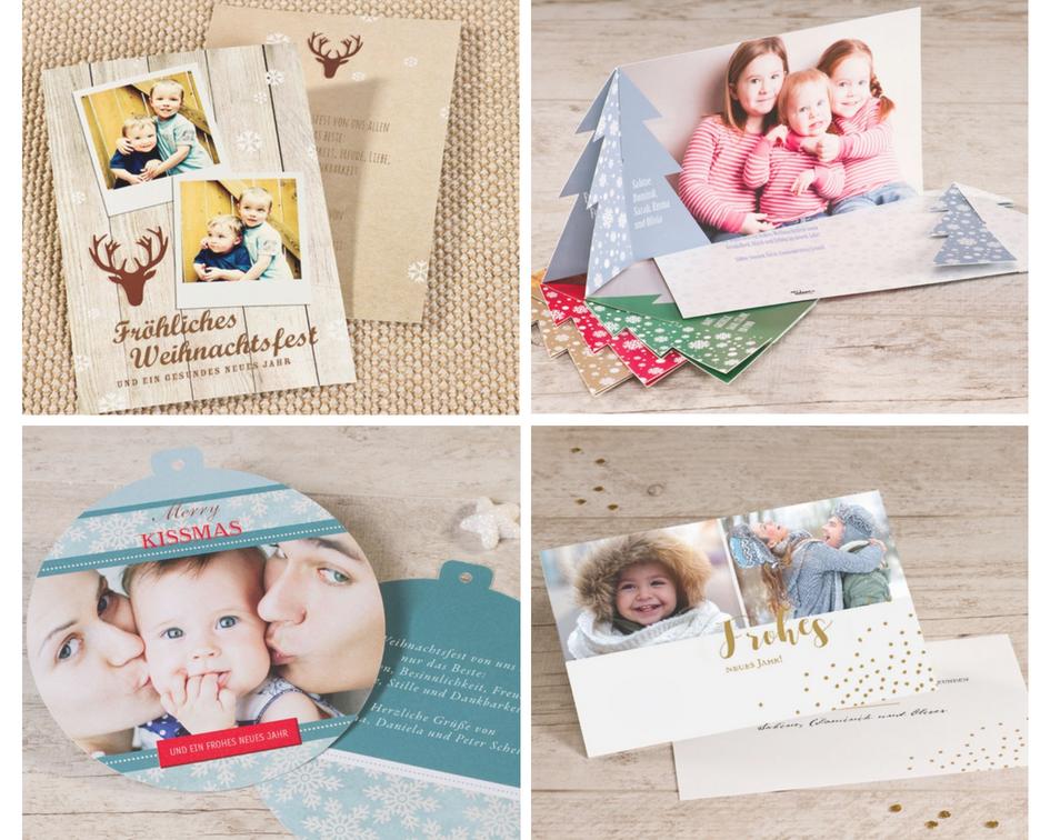 6 tipps zum gestalten ihrer ersten weihnachtskarte tadaaz blog - Weihnachtskarten selbst gestalten mit foto ...