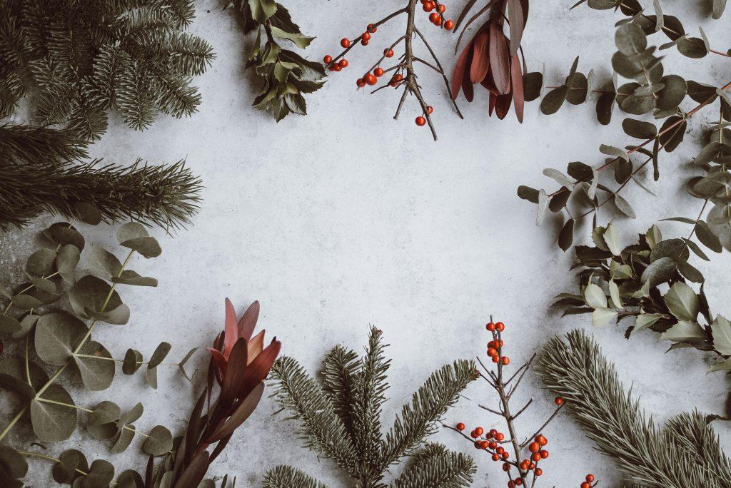 kerstdecoratie voor tafel kerstplanten