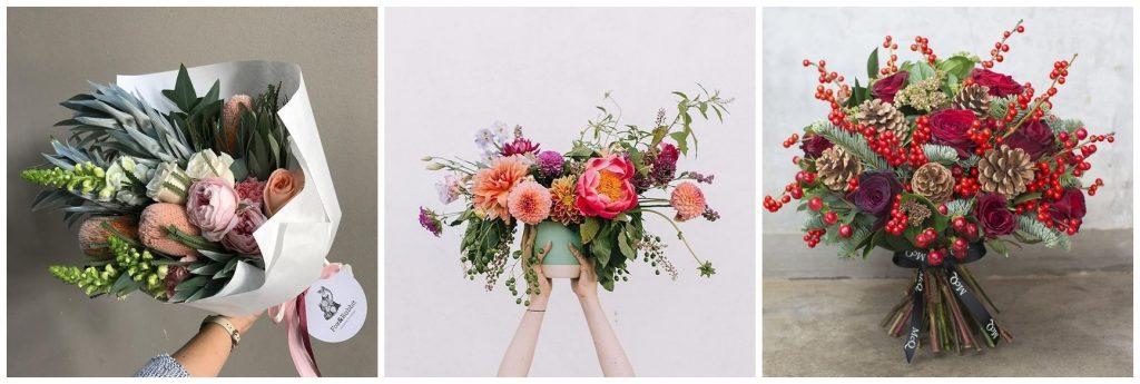 bloemen in je kerst tafeldecoratie