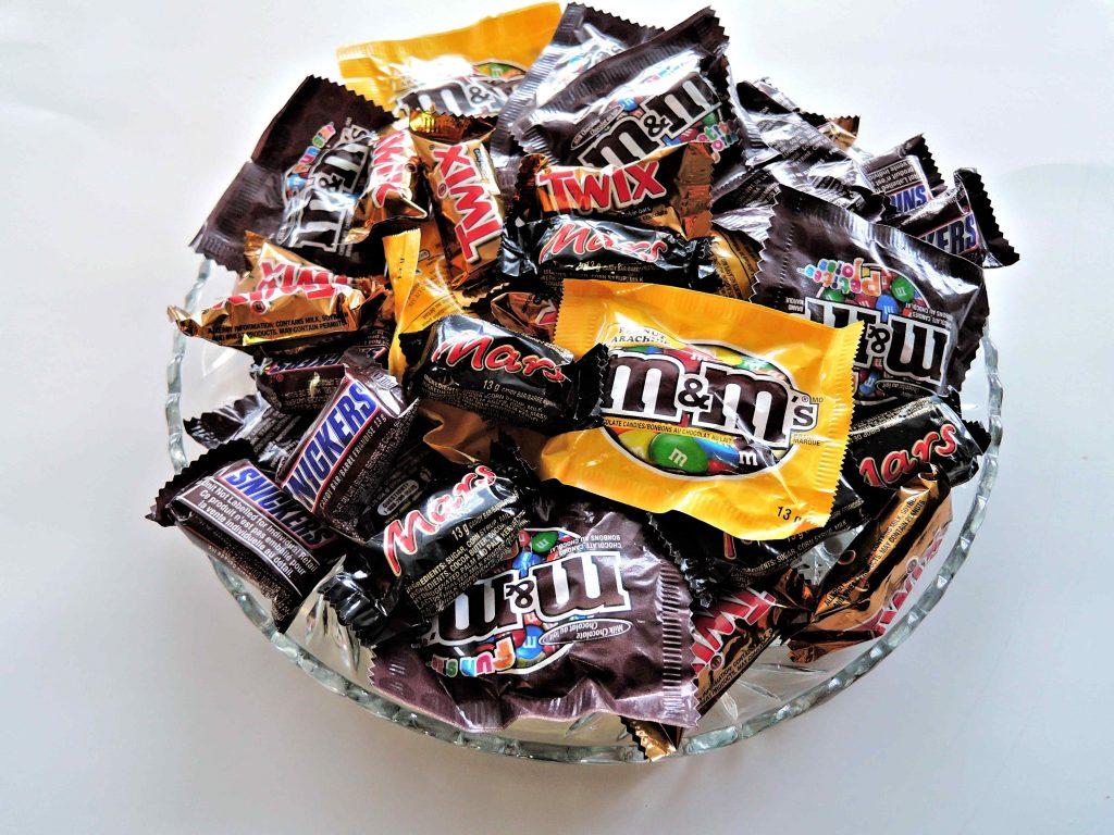 snoepjes voor in aftelkalender