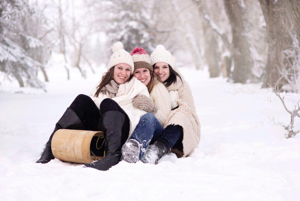 sneeuwfoto tips met props