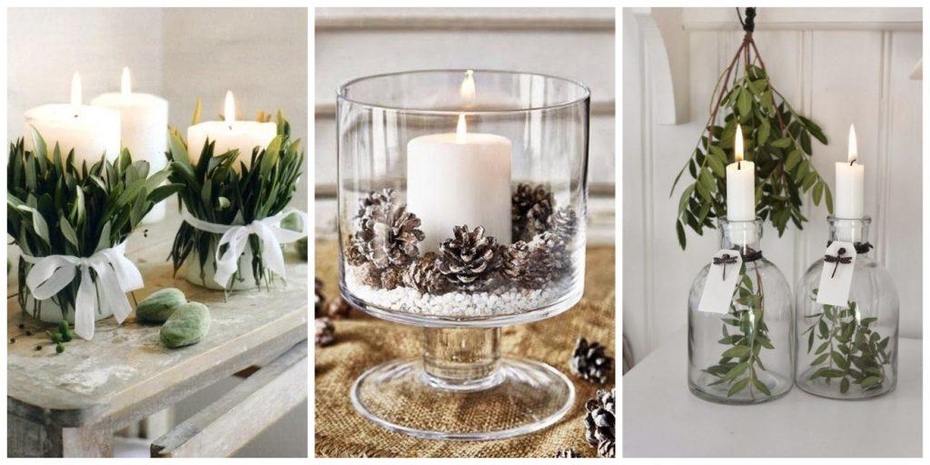 kaarsen in je kerstdecoratie
