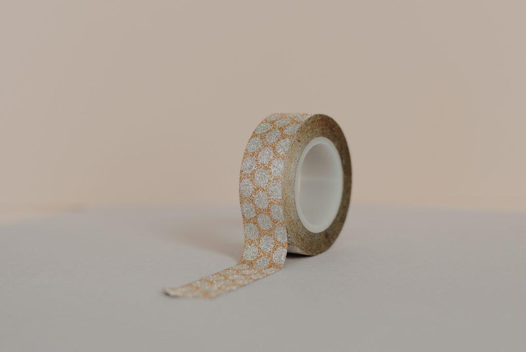 cadeaulabels versieren met washitape