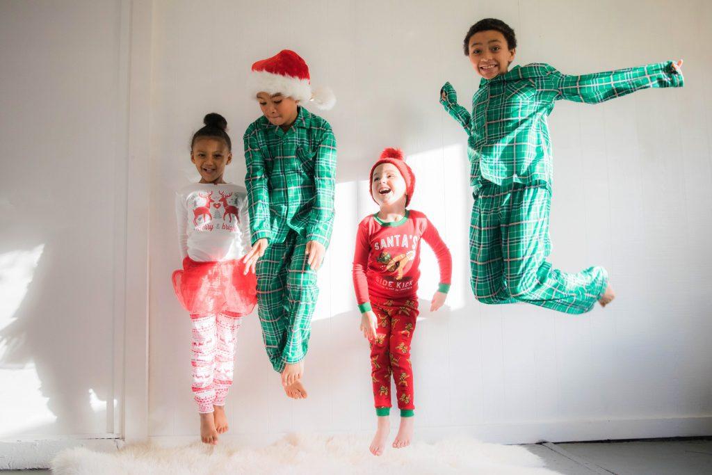 kerstfoto voor op je gepersonaliseerde kerstkaarten