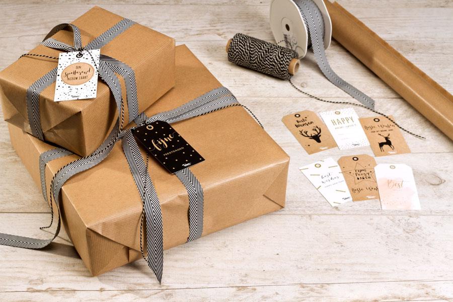 De leukste cadeaulabels voor je kerstgeschenkjes
