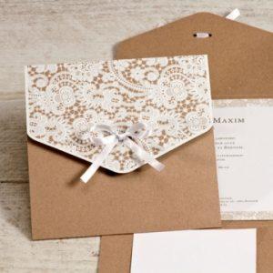 elegante bloemenuitnodiging voor jouw trouwfeest