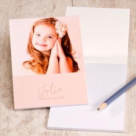leuke notitieboekjes om te geven op het communiefeest van jouw zoon of dochter