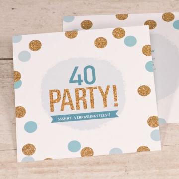 Wonderbaarlijk Je 40ste verjaardag? Dat vraagt om een feestje! GW-29