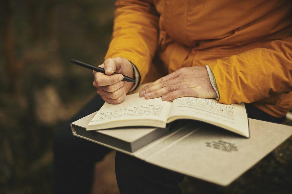 How to: onstressen voor je bruiloft - dagboek