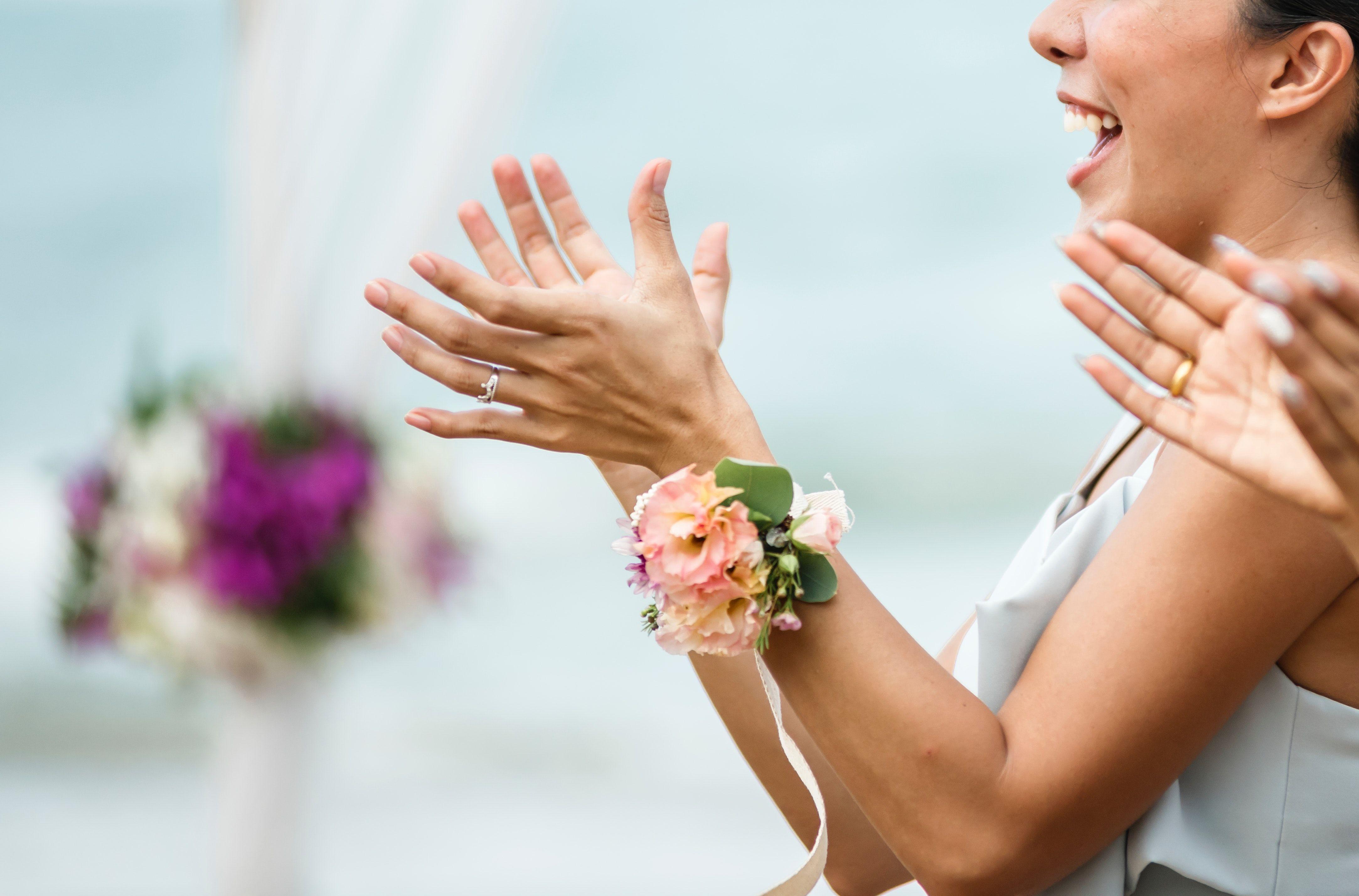 applaudissement pour un discours de mariage exceptionnel