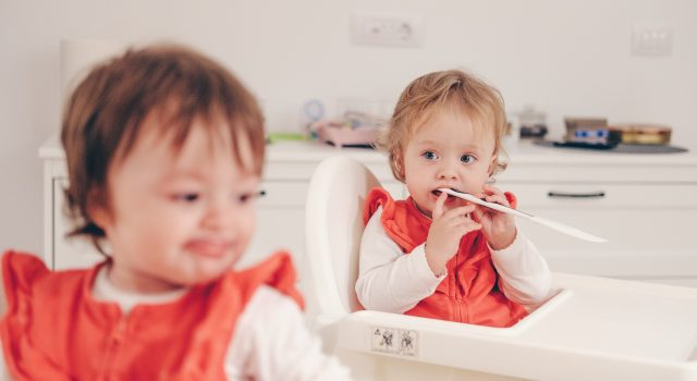 geboortekaartjes voor tweelingen