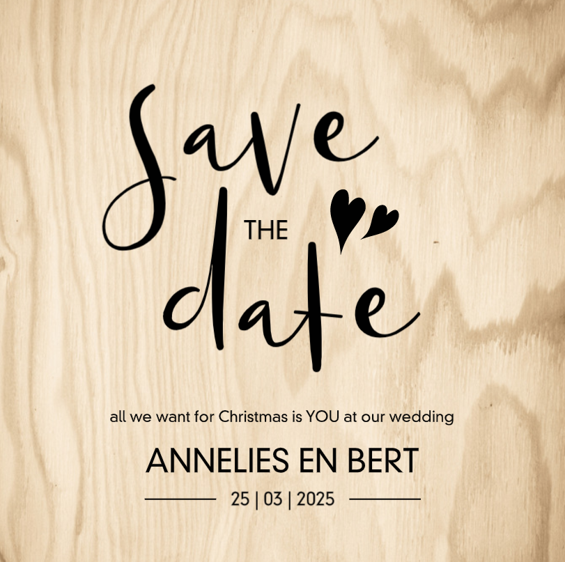 Save the date in houtlook