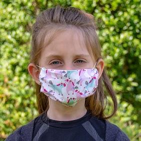 Stoffen mondmasker kinderen