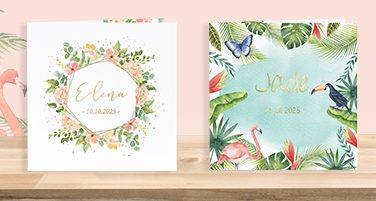 Nieuwe collectie: lente geboortekaartjes