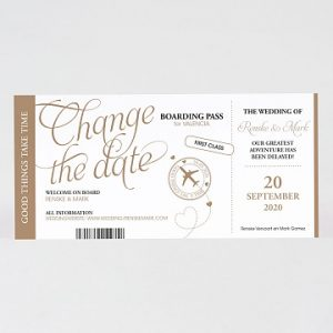 Change the date kaartjes